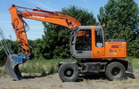 Thumbnail Hitachi Zaxis 130W Wheeled Excavator Technical Troubleshooting Manual Download