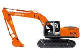 Thumbnail Hitachi ZAXIS(270-280)-3 Hydraulic Excavator Parts Catalog