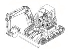 Thumbnail Takeuchi TB153FR Compact Excavator Parts Manual DOWNLOAD(15820001 - and up)
