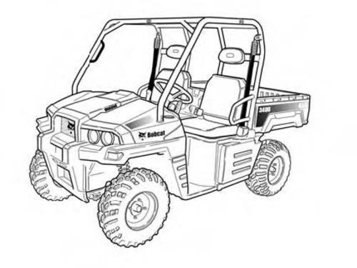 Product picture 3400 3400XL Utility Vehicle Service Repair Manual