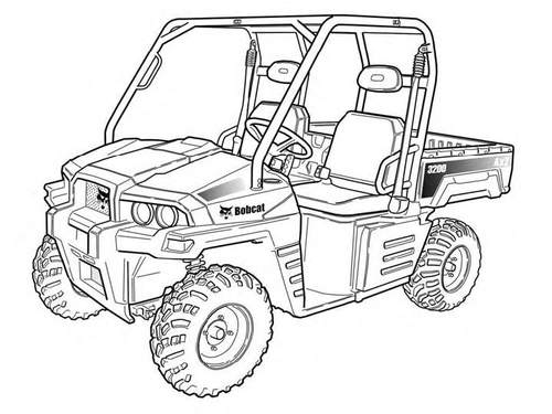 Product picture 3200 Utility Vehicle Service Repair Manual Download