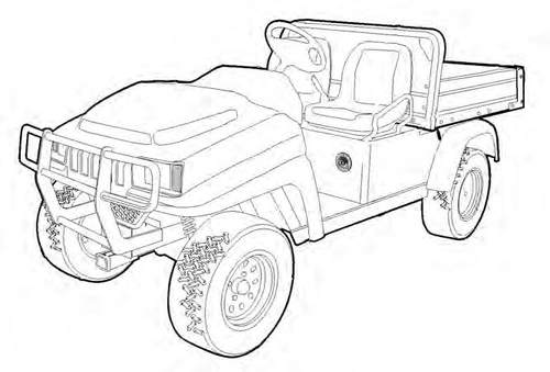 Product picture 2200 2200S 2300 Utility Vehicle Service Repair Manual