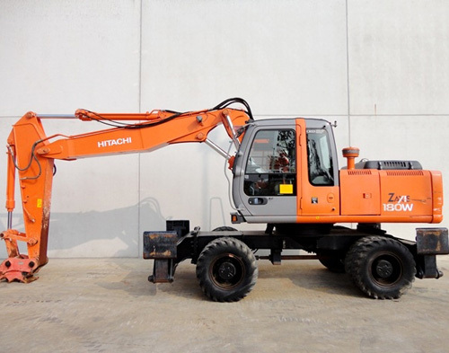 Product picture Hitachi ZAXIS 180W Wheeled Excavator Parts Catalog Download