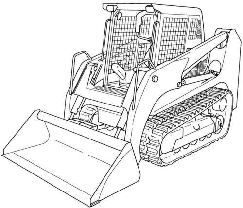 Product picture GEHL CTL70 Compact Track Loader Service Repair Manual Download