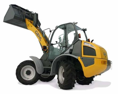Product picture Gehl AWS36 and AWS46 All-Wheel-Steer Loaders Service Repair Manual Download