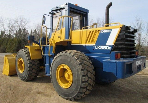 Product picture Kobelco LK850-II Wheel Loader Parts Catalog Manual Download